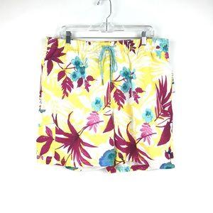 Tommy Bahama Swim Trunks XL Floral Naples NEW M98